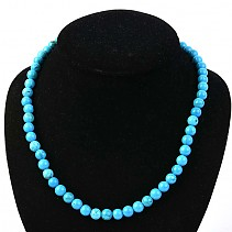 Ball necklace tyrkenit 48 cm