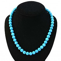 Ball necklace tyrkenit 50 cm