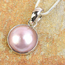 Pearl pendant in Ag 925/1000 silver